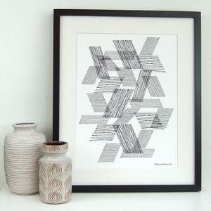 Abstract Line Giclee Print - posters & prints