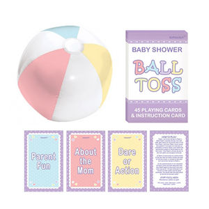 Baby Shower Bouncy Ball Trivia Game