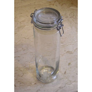 1850ml Jam And Pickle Preserving Jar With Glass Lid