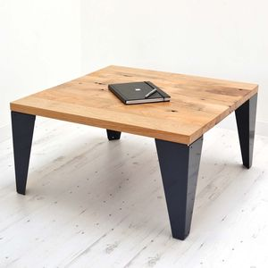 Reclaimed French Oak Coffee Table - coffee tables