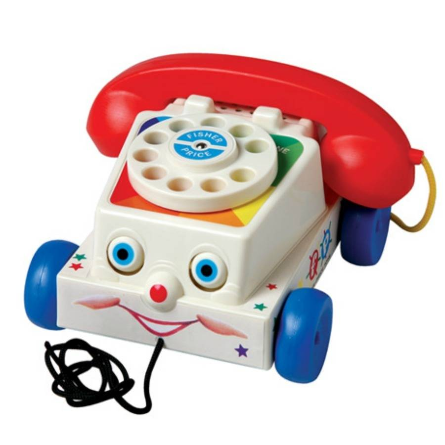 fisher price classic chatter telephone toy by posh totty designs interiors. Black Bedroom Furniture Sets. Home Design Ideas