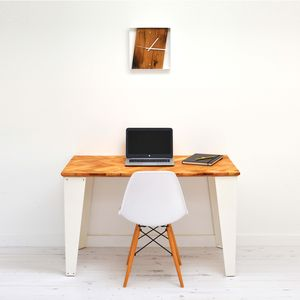 Reclaimed Parquet Desk