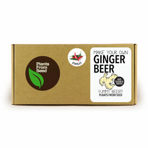 Make Your Own Ginger Beer With Chilli Kit - drink gifts