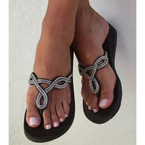 Zanzibar Heel Sandals - Brown/Silver