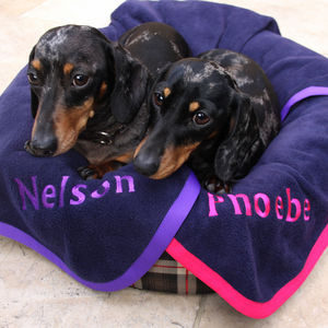 Personalised Pet Blanket - dogs