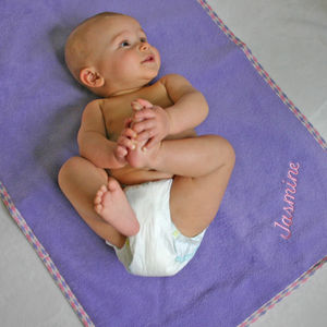 Personalised Reversible Changing Mat