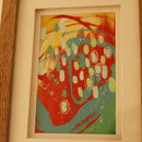 Nicky Original Framed Painting On Paper