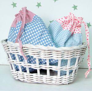 Ollie Print Baby Wash Bag
