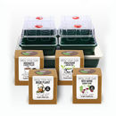 Four Plant Kits With Four Dome Heated Propagator