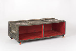 Upper East Side Art Crate Tv Stand