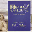 Book Of Fairy Tales Christening Or Baptism Gift