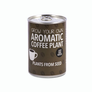 Grown Your Own Coffee Plant Decorative Tin Kit