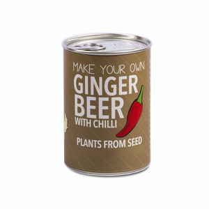 Make Your Own Ginger Beer Decorative Tin Kit - gifts to drink