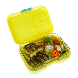Yumbox Panino In Ananas Yellow. The Leakproof Lunch Box