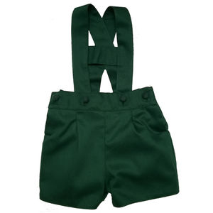 Albertos Green Romper Shorts - clothing