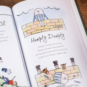 Personalised Book Of Nursery Rhymes - interests & hobbies