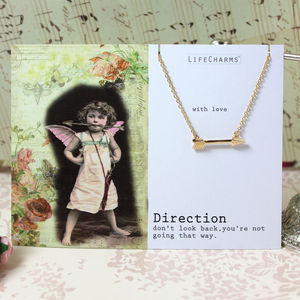 'Direction' Arrow Jewellery - charm jewellery