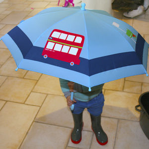 Child's Colour Changing Bus Umbrella - coats & jackets