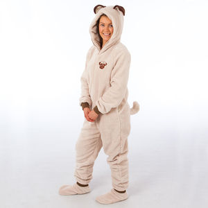 Pug Onesie - women's fashion