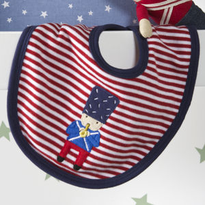 Soldier Baby Bib - baby care