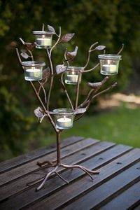 Candle Tealight Holder / Nature