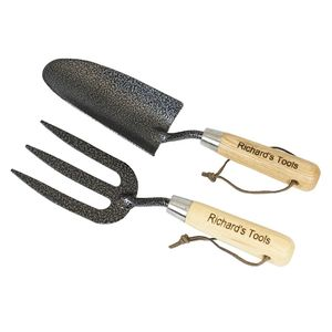 Personalised Fork And Trowel Set - tools & equipment