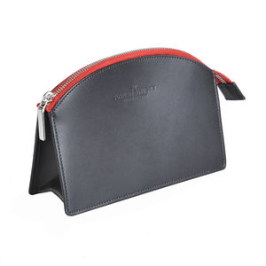 Demi Leather Make Up Bag