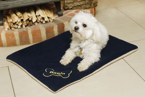 Personalised Dog Bed - beds & sleeping