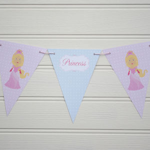 Princess Themed Reversible Bunting - view all sale items