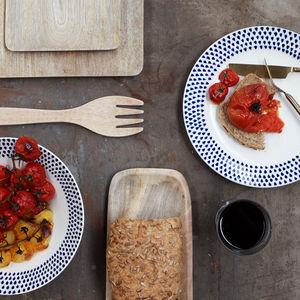 Indigo Drop Dinner Range - new home essentials