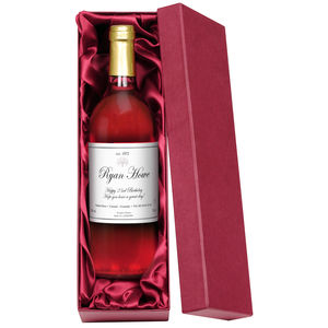 Classic Personalised Rosé Wine - wines, beers & spirits