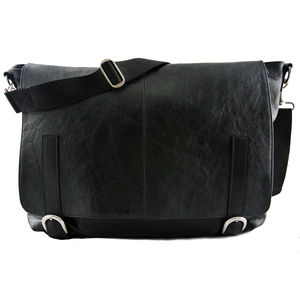 Leather Hybrid Maxi Messenger/Backpack