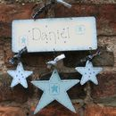 Three Star Name Sign