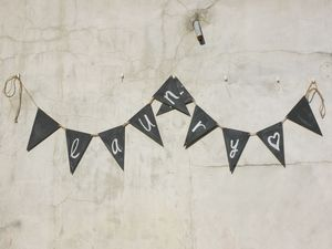 Chalkboard Bunting - occasional supplies