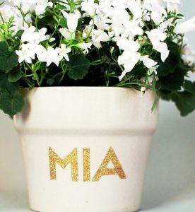 Gold Sparkle Alphabet Stickers - view all mother's day gifts