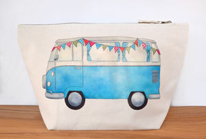 Campervan Canvas Wash Bag