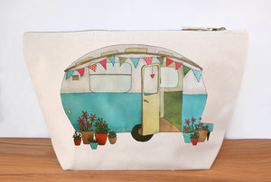 Caravan Large Canvas Wash Bag