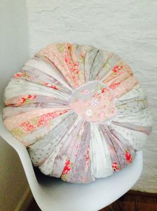 Handmade Patchwork Floor Cushion / Beanbag