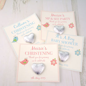 Christening/Baby Shower Gift Favours