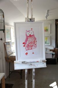 'Owley' Artist Signed Art Print