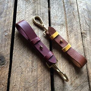 Leather Key Loop