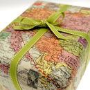 vintage map paper