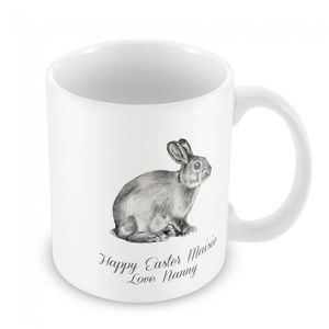 Personalised Mug, Bunny Rabbit - kitchen