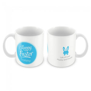 Personalised Mug, Happy Easter