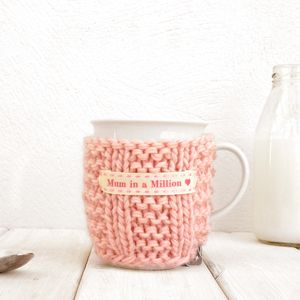 Personalised Knitted Mug Cosy - kitchen accessories