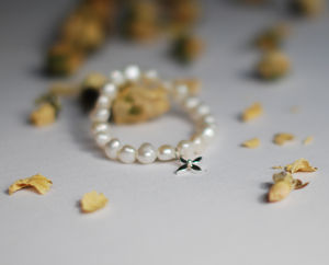 Flower Girl Bracelet - charm jewellery
