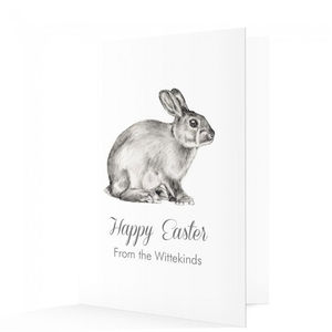 Personalised Happy Easter Cards - easter cards