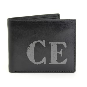 Personalised 'Rustic' Initial Wallet - wallets & money clips