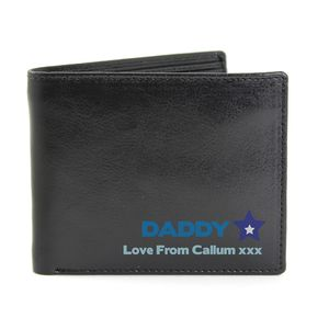 Personalised Best Dad Wallet