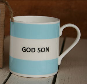 'God Son' Fine Bone China Mug